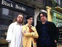 """Black Books"" (2000-2004), the library loonies 3 image"