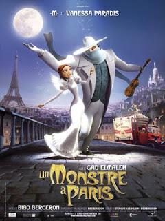 """CINEMA: I NEED A TRAILER #48 - """"Un monstre à Paris"""" de/by Bibo Bergeron 1 image"""