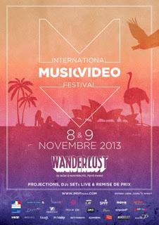 MUSIC: 9ème édition de l'International Music Video Festival / 9th edition of the International Music Video Festival 1 image
