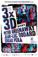 """CINEMA: """"3x3D"""" (2013), patchwork de films 3D/patchwork of 3D movies 1 image"""