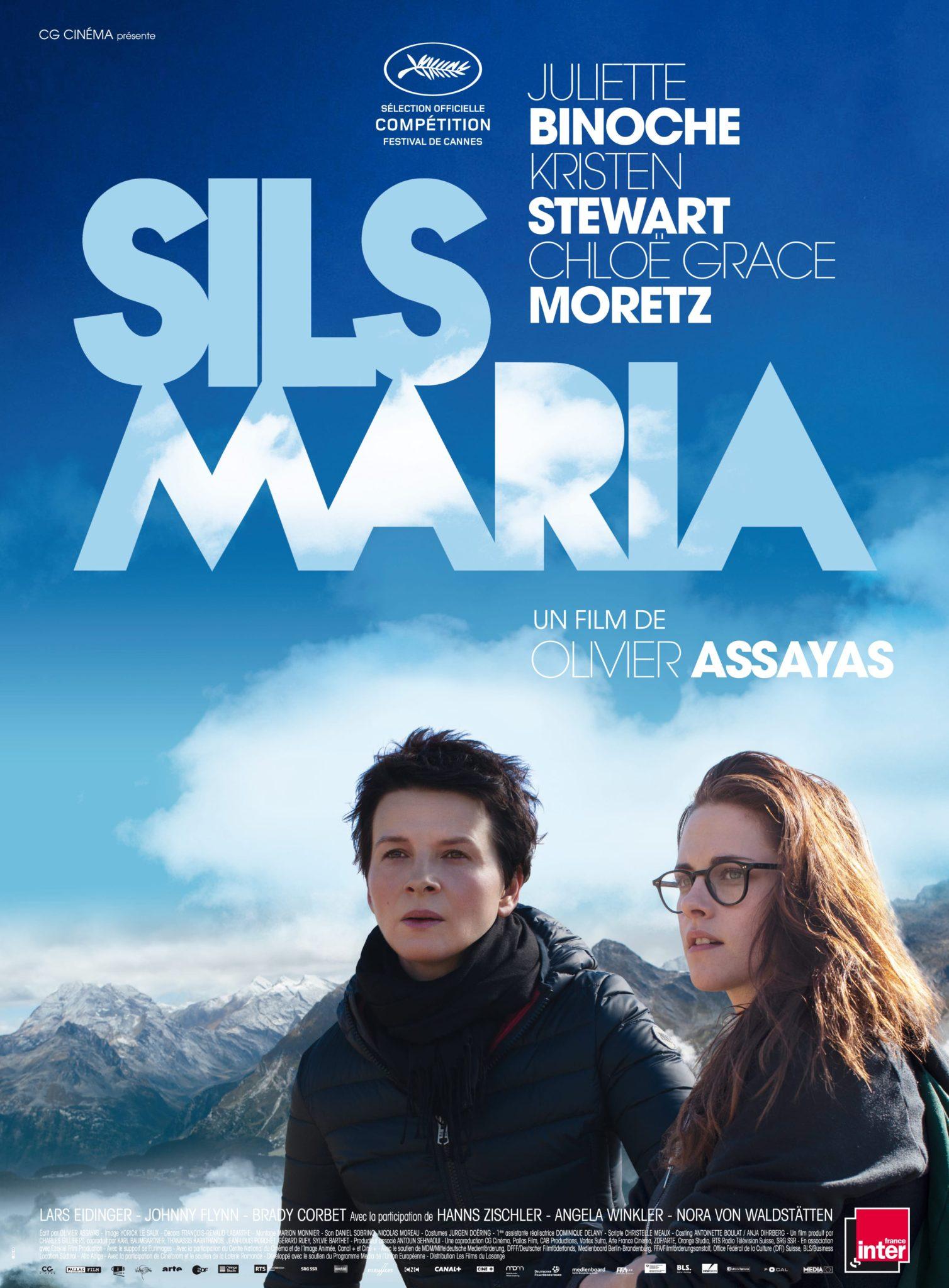 Sils Maria d'Olivier Assayas affiche
