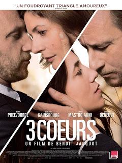 """[Critique] """"3 Cœurs"""" (2014) : A bout de souffle 1 image"""