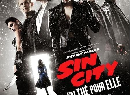 """""""Sin City : j'ai tué pour elle"""" (2014), noir c'est noir 1 image"""