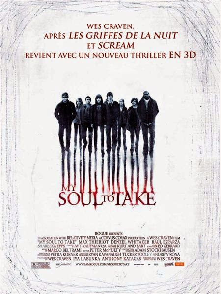 "[DVD] ""My Soul to Take"" (2010) de/by Wes Craven 2 image"