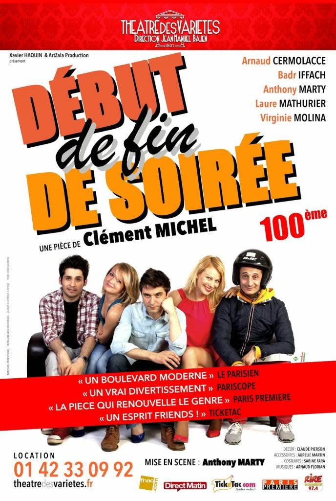 """THEATRE: """"Début de fin de soirée"""" de/by Clément Michel 2 image"""