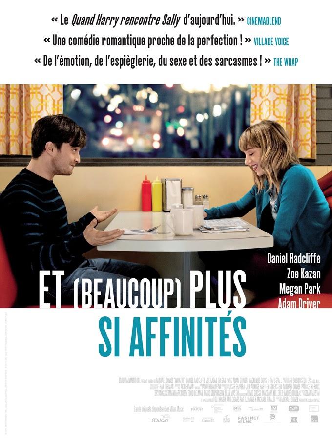 <i>Et (beaucoup) plus si affinités</i> (2013), amis ou petits amis ? / <i>What If</i> (2013), friends or boyfriends? 2 image