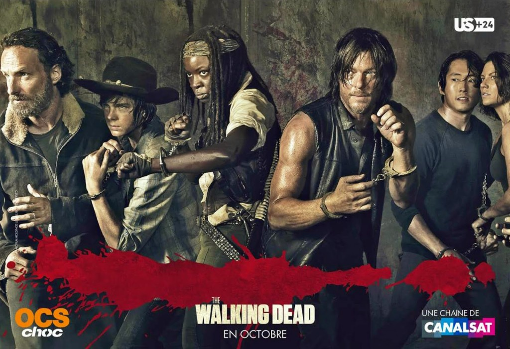 "TELEVISION: ""The Walking Dead"" saison 5, ce n'est que le début / ""The Walking Dead"" season 5, this is only the beginning 2 image"