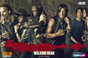 "TELEVISION: ""The Walking Dead"" saison 5, ce n'est que le début / ""The Walking Dead"" season 5, this is only the beginning 1 image"