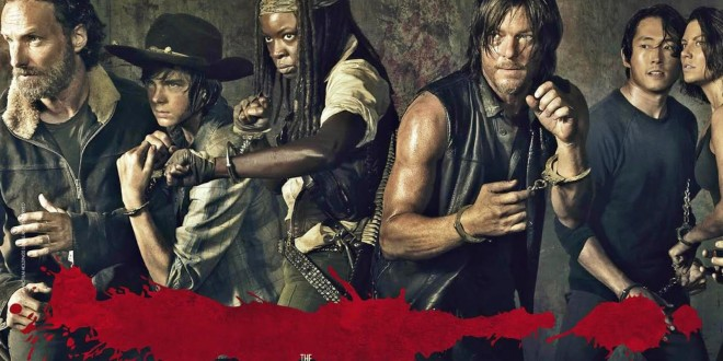 "TELEVISION: ""The Walking Dead"" saison 5, ce n'est que le début / ""The Walking Dead"" season 5, this is only the beginning 1 image"