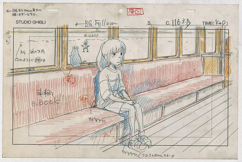 <i>Exposition Dessins du Studio Ghibli</i> / <i>Exhibition Studio Ghibli Layout Designs</i> 5 image