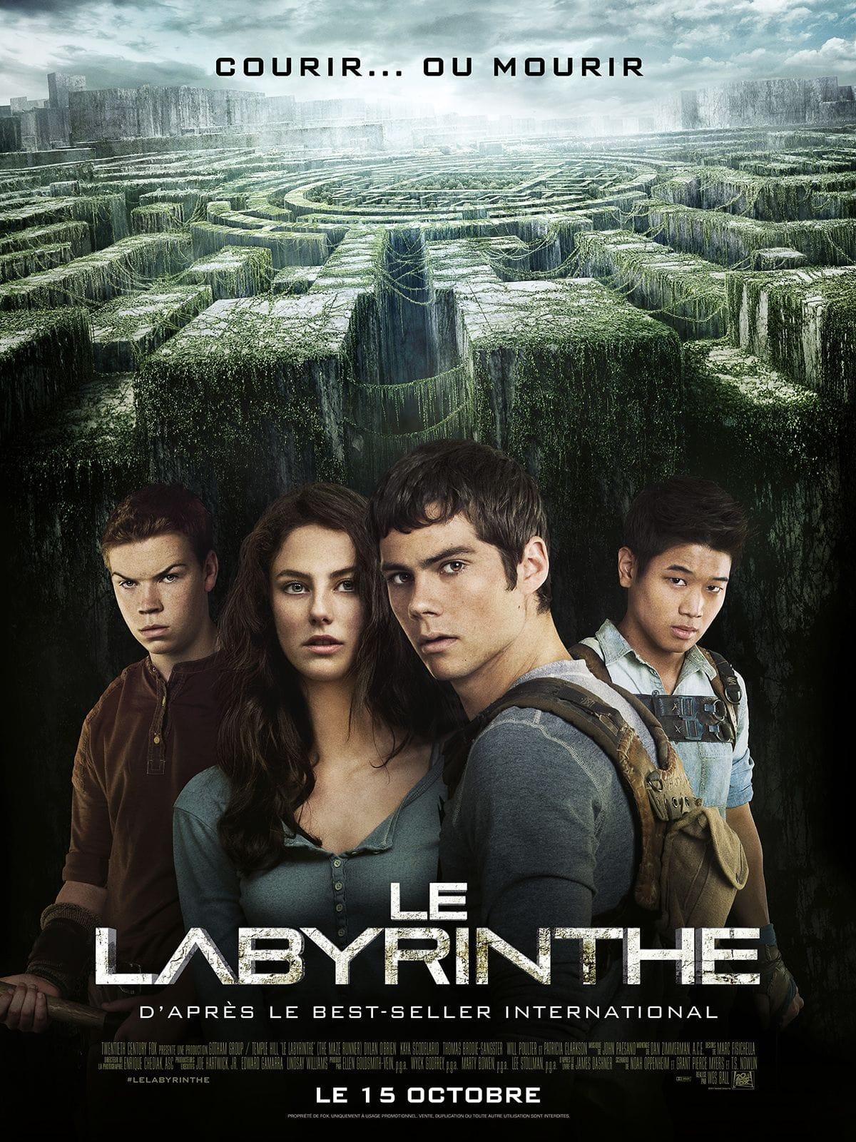 Le Labyrinthe de Wes Ball affiche film cinéma