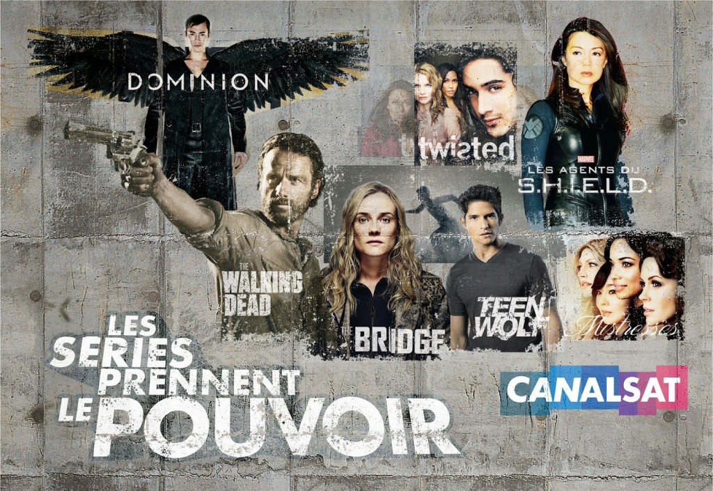 TELEVISION: Les séries prennent le pouvoir sur CanalSat / Series take power on CanalSat 2 image