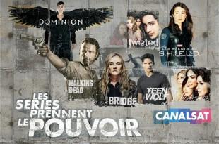 TELEVISION: Les séries prennent le pouvoir sur CanalSat / Series take power on CanalSat 3 image