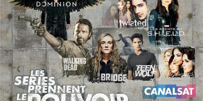 TELEVISION: Les séries prennent le pouvoir sur CanalSat / Series take power on CanalSat 1 image