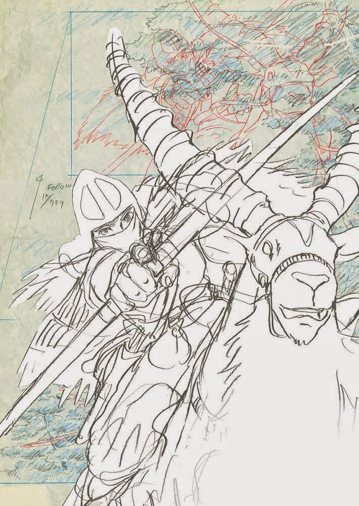 <i>Exposition Dessins du Studio Ghibli</i> / <i>Exhibition Studio Ghibli Layout Designs</i> 4 image