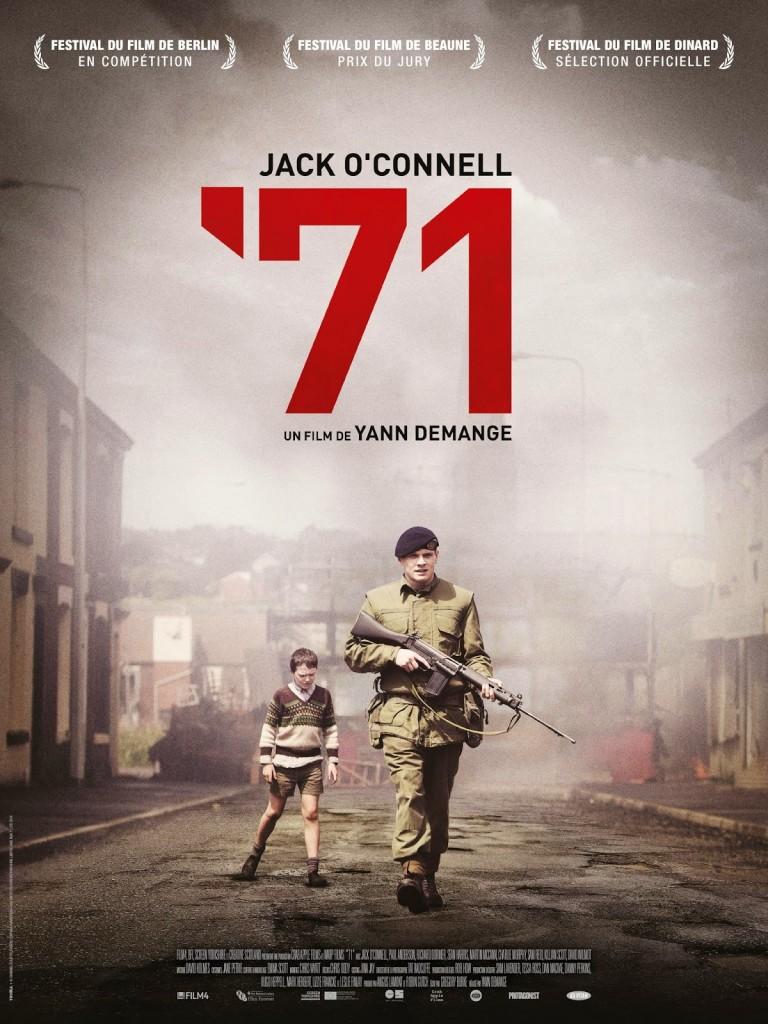 "CINEMA : ""'71"" (2014), le soldat Gary doit se sauver / private Gary needs to save himself 2 image"
