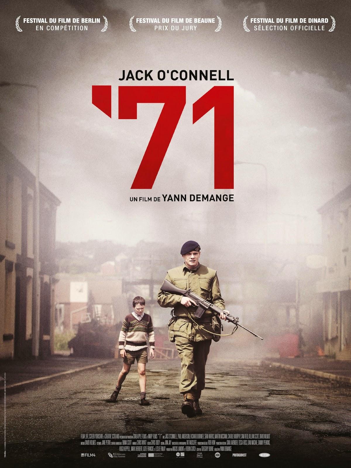 """Critique / """"'71"""" (2014) : le soldat Gary doit se sauver 1 image"""