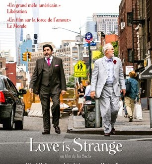 <i>Love is Strange</i> (2014), drôle de lune de miel / <i>Love is Strange</i> (2014), when honymoon becomes weird 1 image