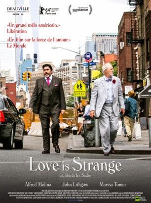 <i>Love is Strange</i> (2014), drôle de lune de miel / <i>Love is Strange</i> (2014), when honymoon becomes weird 2 image