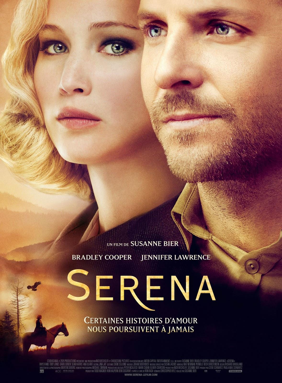 Serena affiche film cinéma