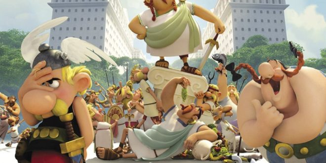 Astérix - Le Domaine des Dieux d'Alexandre Astier et Louis Clichy affiche film d'animation cinéma