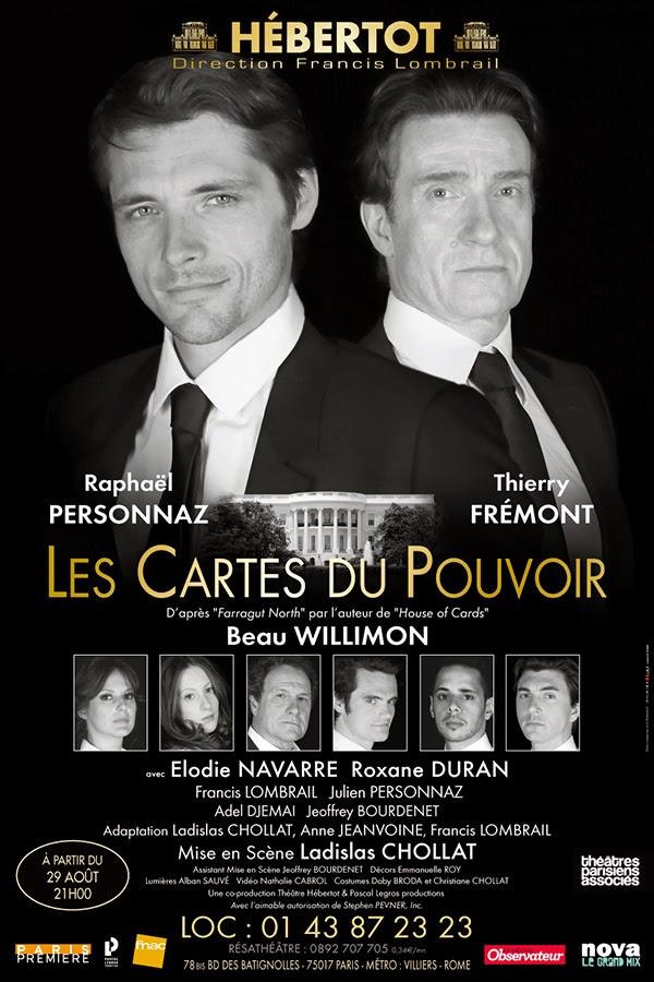 THEATRE: <i>Les Cartes du Pouvoir</i> (2014), des atouts dans la main / all the trumps 2 image