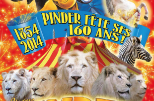 Le Cirque Pinder fête ses 160 ans !, émerveillement pour tous sous le chapiteau/a spectacular show for all ages 1 image