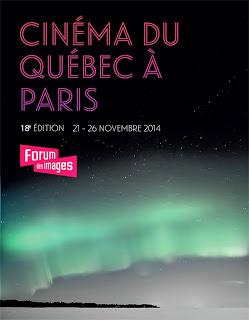 CINEMA: [FESTIVAL] Cinéma du Québec à Paris 2014 - Cérémonie de clôture / Closing ceremony 1 image