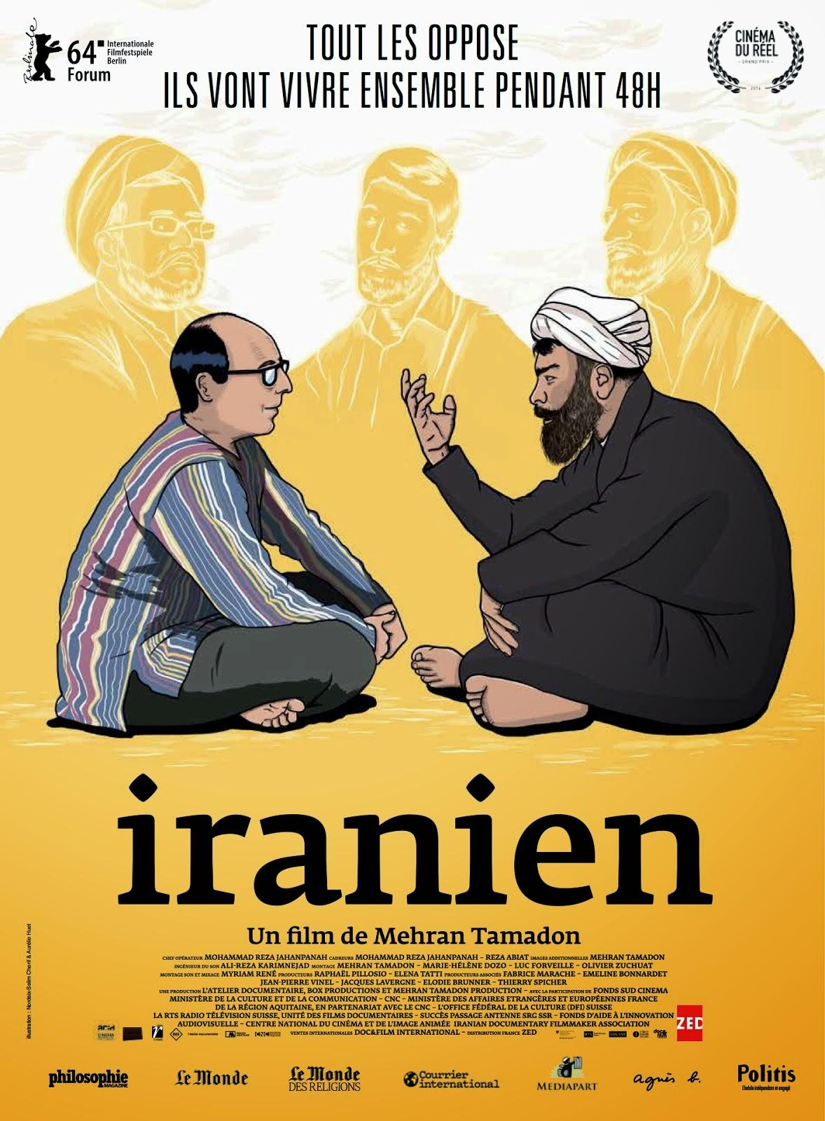 "[ITW] Mehran Tamadon, réalisateur de ""Iranien"" (2014) 1 image"