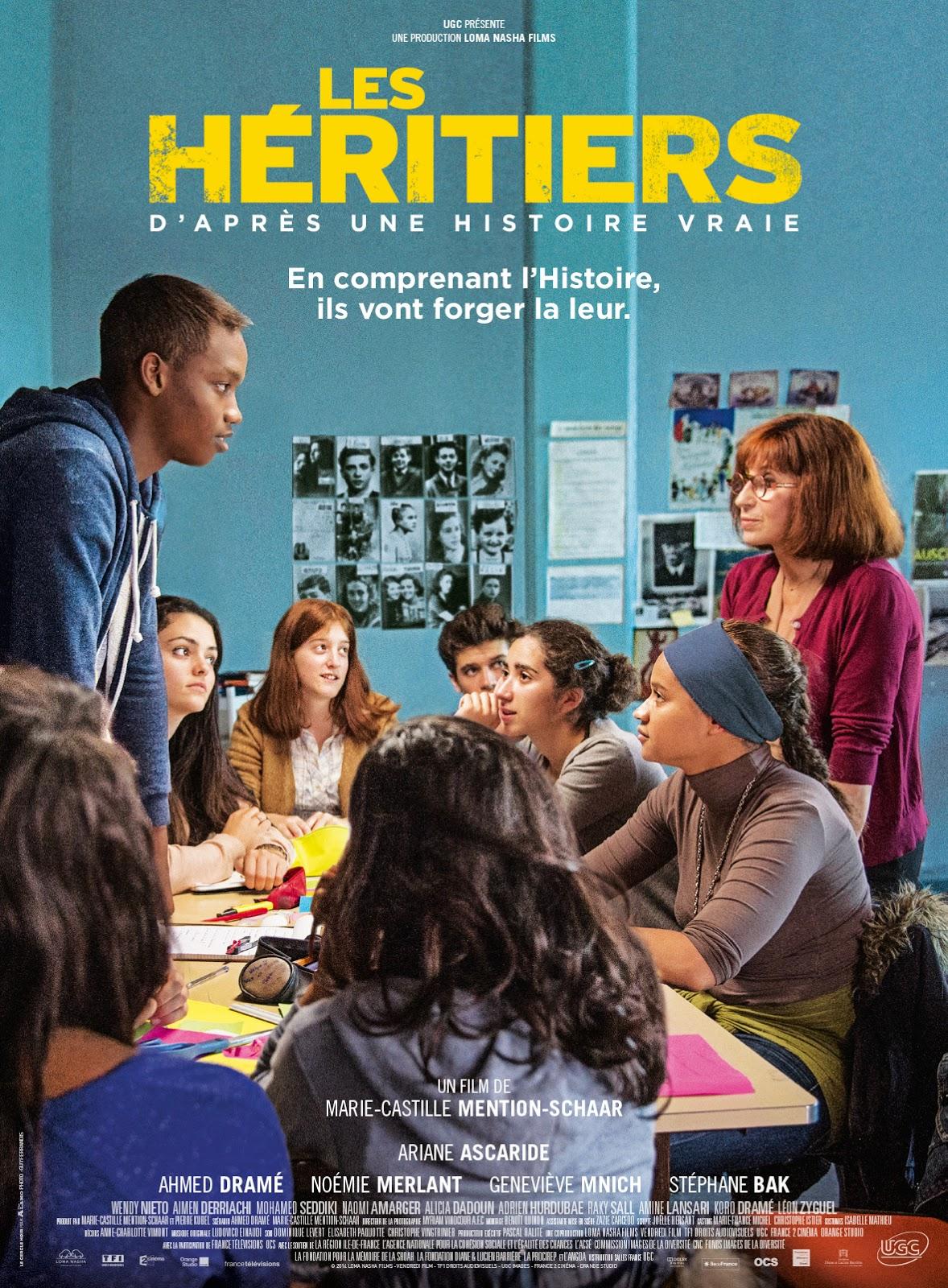 """[Critique] """"Les Héritiers"""" (2013) de Marie-Castille Mention-Schaar 1 image"""