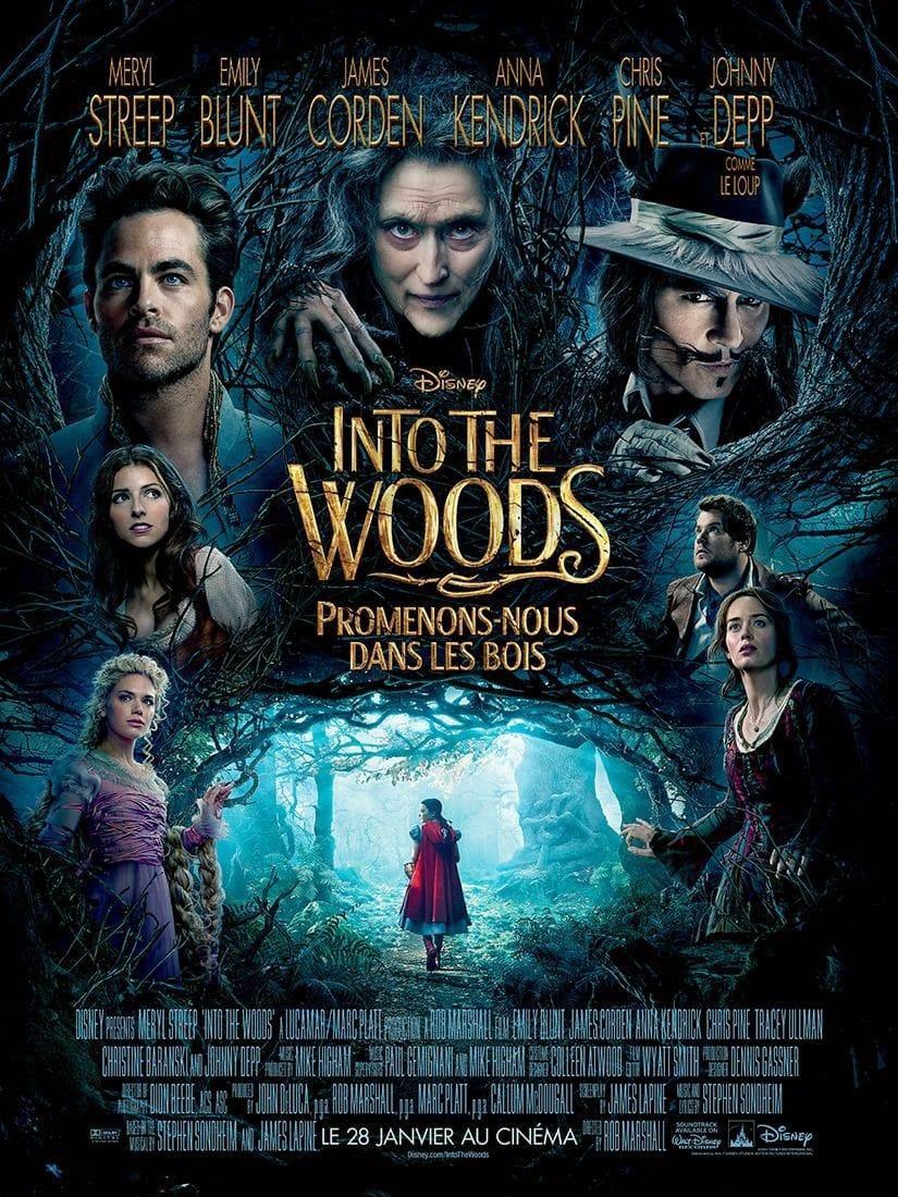 """Critique / """"Into the Woods, Promenons-nous dans les bois"""" (2014) : jovialité infectieuse dans les bois 1 image"""