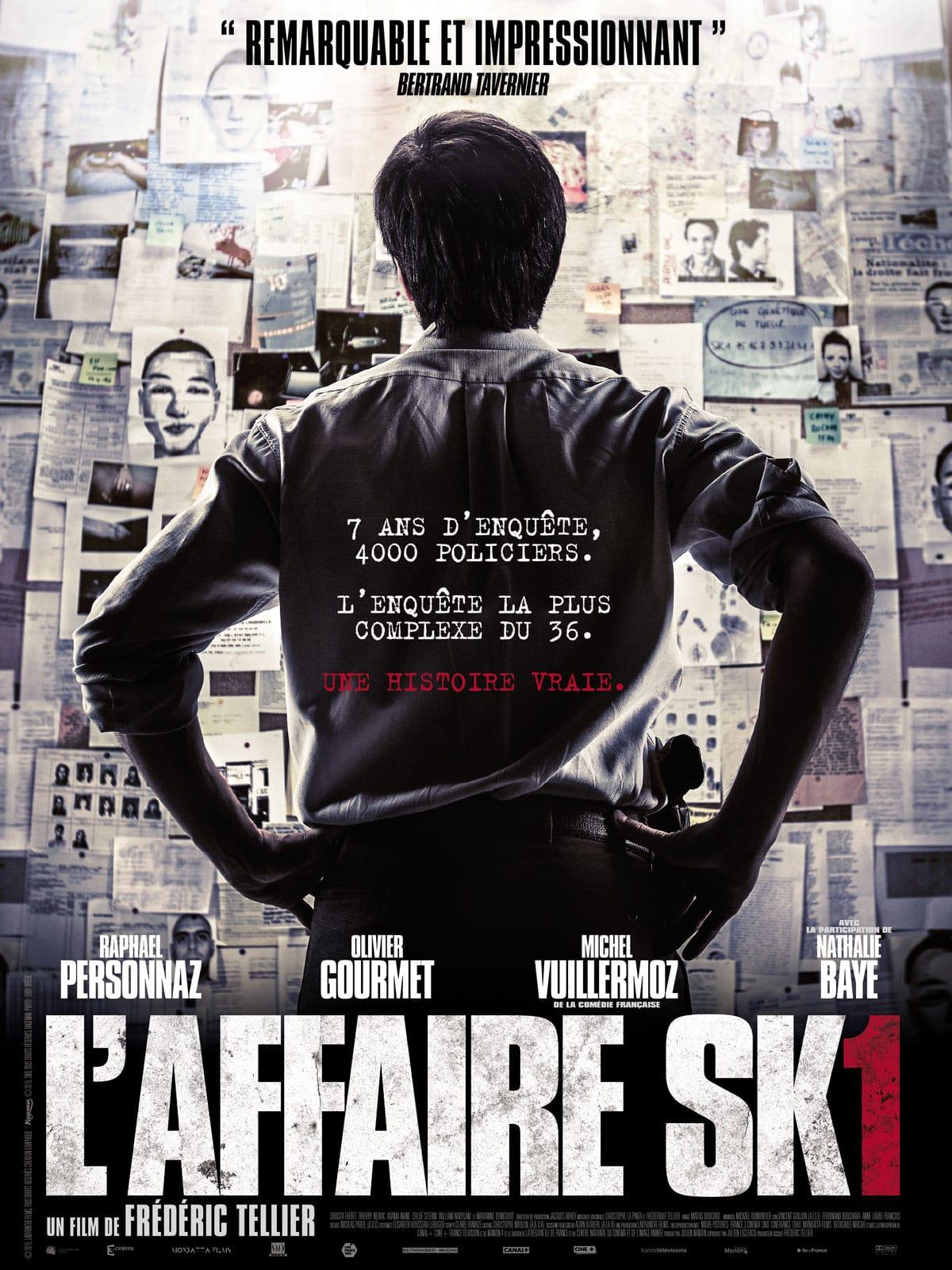 L'Affaire SK1 de Frédéric Tellier affiche film cinéma