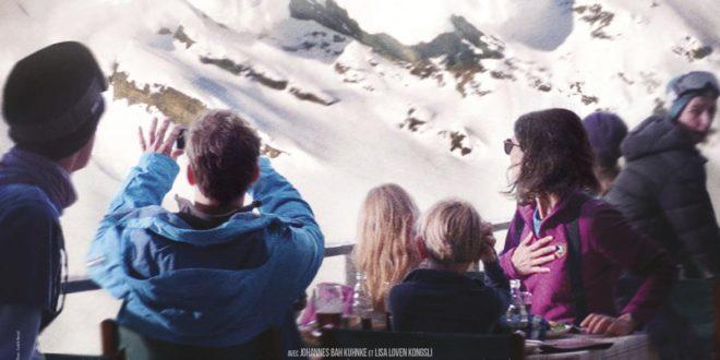 Snow Therapy de Ruben Östlund affiche film cinéma