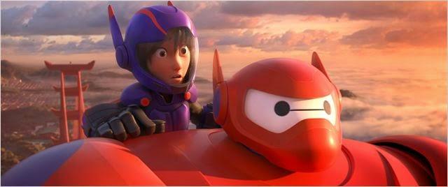 """Critique / """"Les Nouveaux Héros"""" (2014) : quand Wall-E rencontre Stan Lee 2 image"""