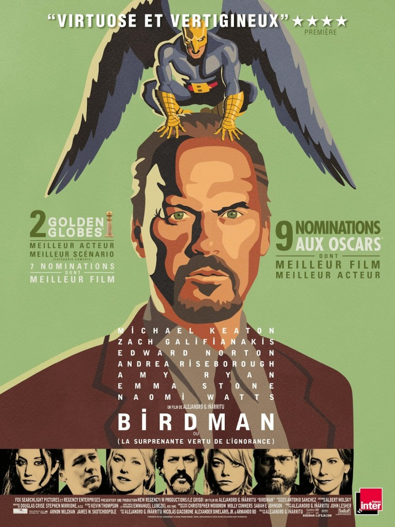 <i>Birdman</i> (2014), petit oiseau, si tu n'as pas d'ailes... / little bird, if you don't have your wings... 2 image