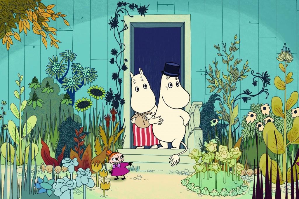 Les Moomins sur la Riviera, les vacances de trolls
