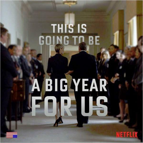 TELEVISION: <i>House of Cards</i> saison 3, un retour à haut risque ? / <i>House of Cards</i> season 3, a high risk comeback? 4 image