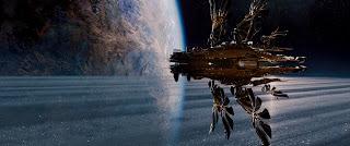 """Critique / """"Jupiter : Le destin de l'Univers"""" (2015) d'Andy et Lana Wachowski 1 image"""
