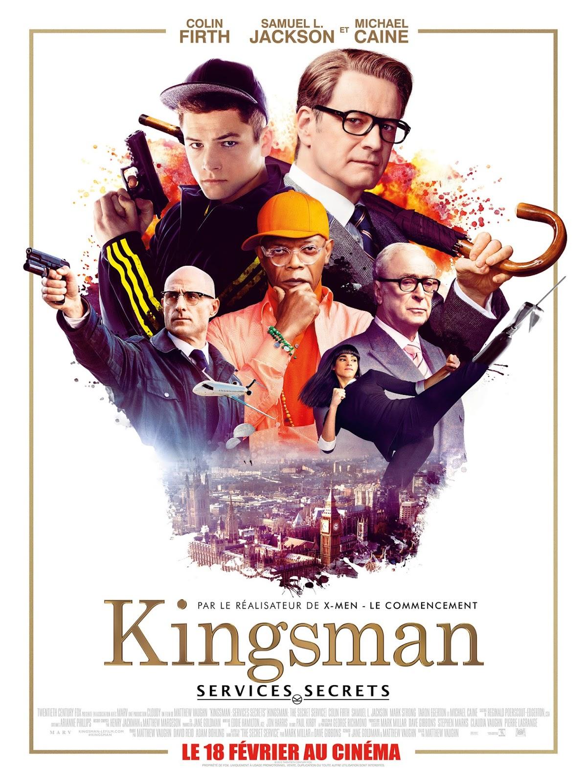 """[Critique] """"Kingsman : Services Secrets"""" (2015) : Un blockbuster royal 1 image"""