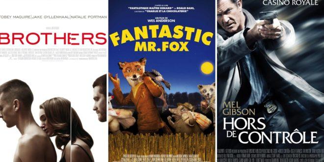 Brothers, Fantastic Mr. Fox, Hors de contrôle affiches films cinéma