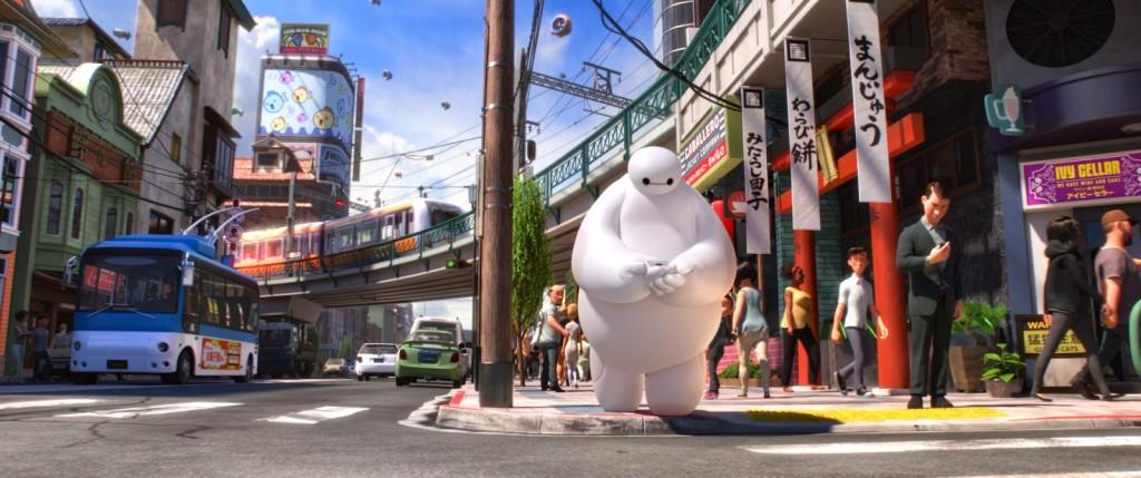 """Critique / """"Les Nouveaux Héros"""" (2014) : quand Wall-E rencontre Stan Lee 4 image"""