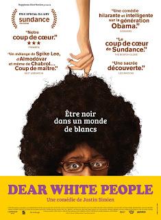 <i>Dear White People</i> (2014), guide de survie dans un monde de Blancs / survival guide in a White's world 1 image
