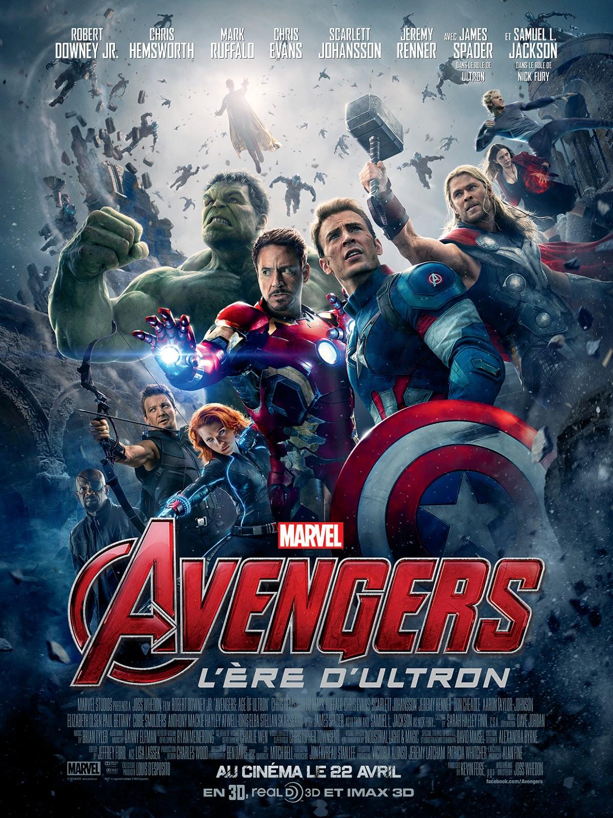 """Critique / """"Avengers : L'ère d'Ultron"""" (2015) : deuxième round 1 image"""