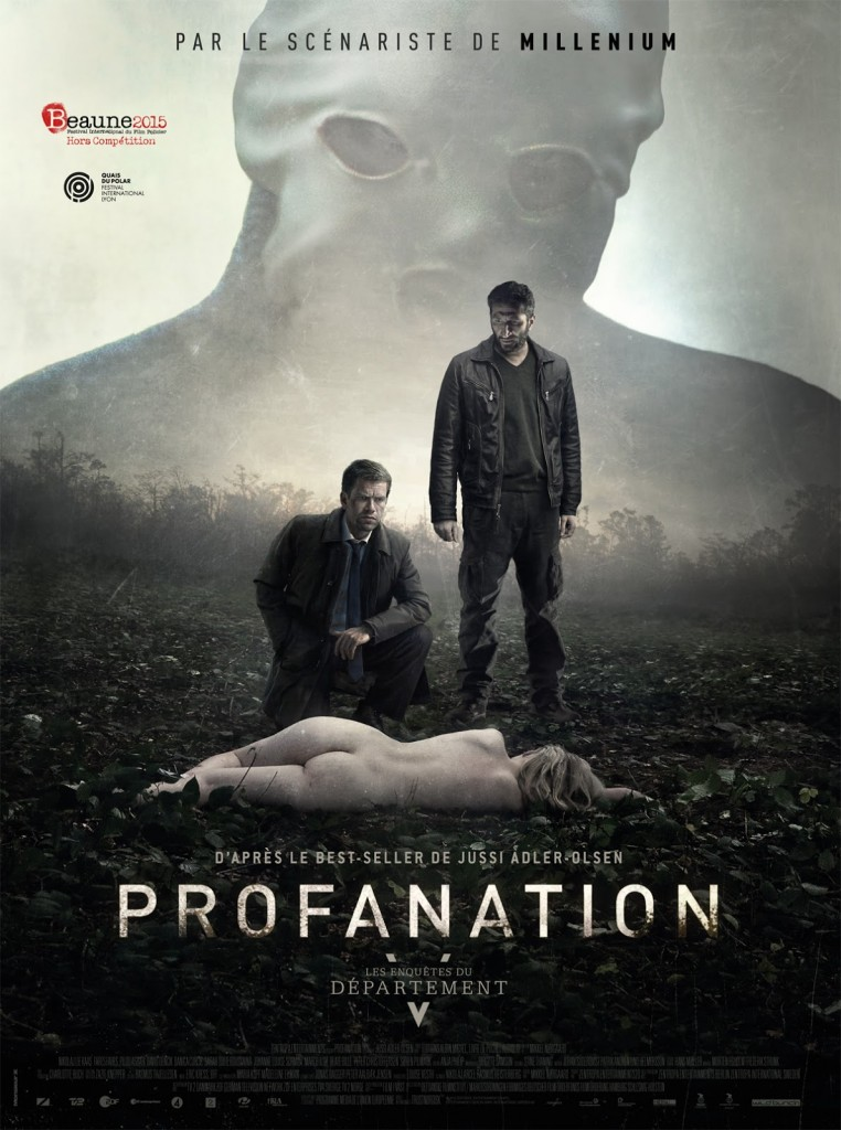 Les Enquêtes du Département V : Profanation - affiche