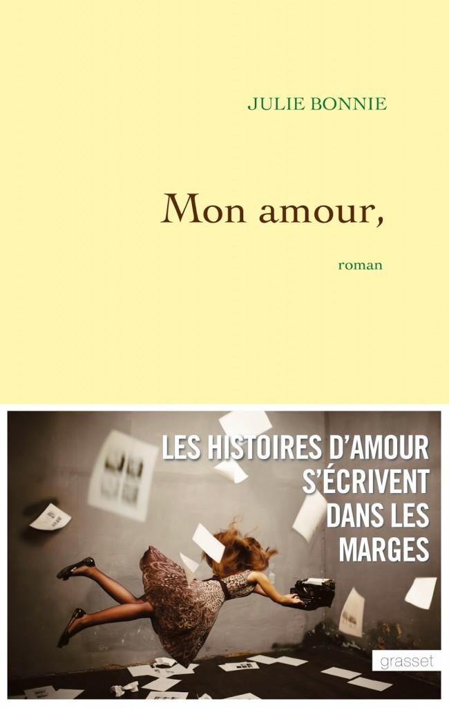 Julie Bonnie - Mon amour, - couverture