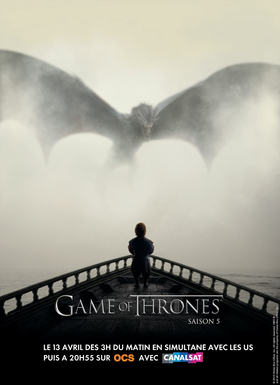 <i>Game Of Thrones</i> saison 5, une série indétrônable / <i>Game Of Thrones</i> season 5, an undethronable series 3 image