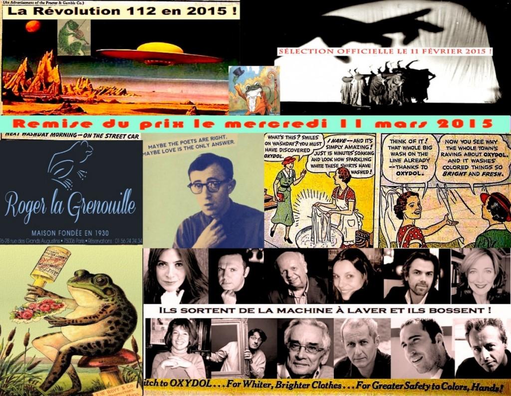 Prix de la page 112, le tout dernier né des grands prix littéraires! 2 image