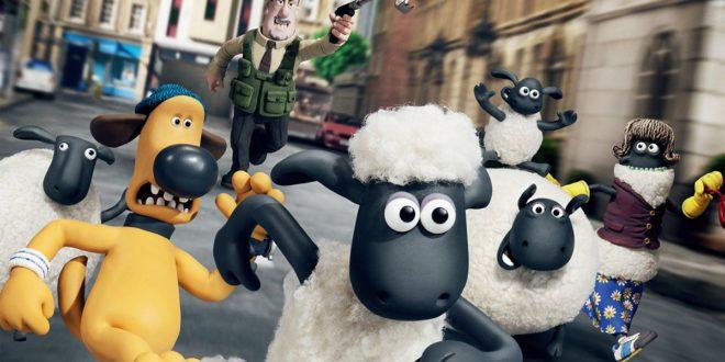 Shaun le mouton de Richard Starzak et Mark Burton affiche film animation cinéma