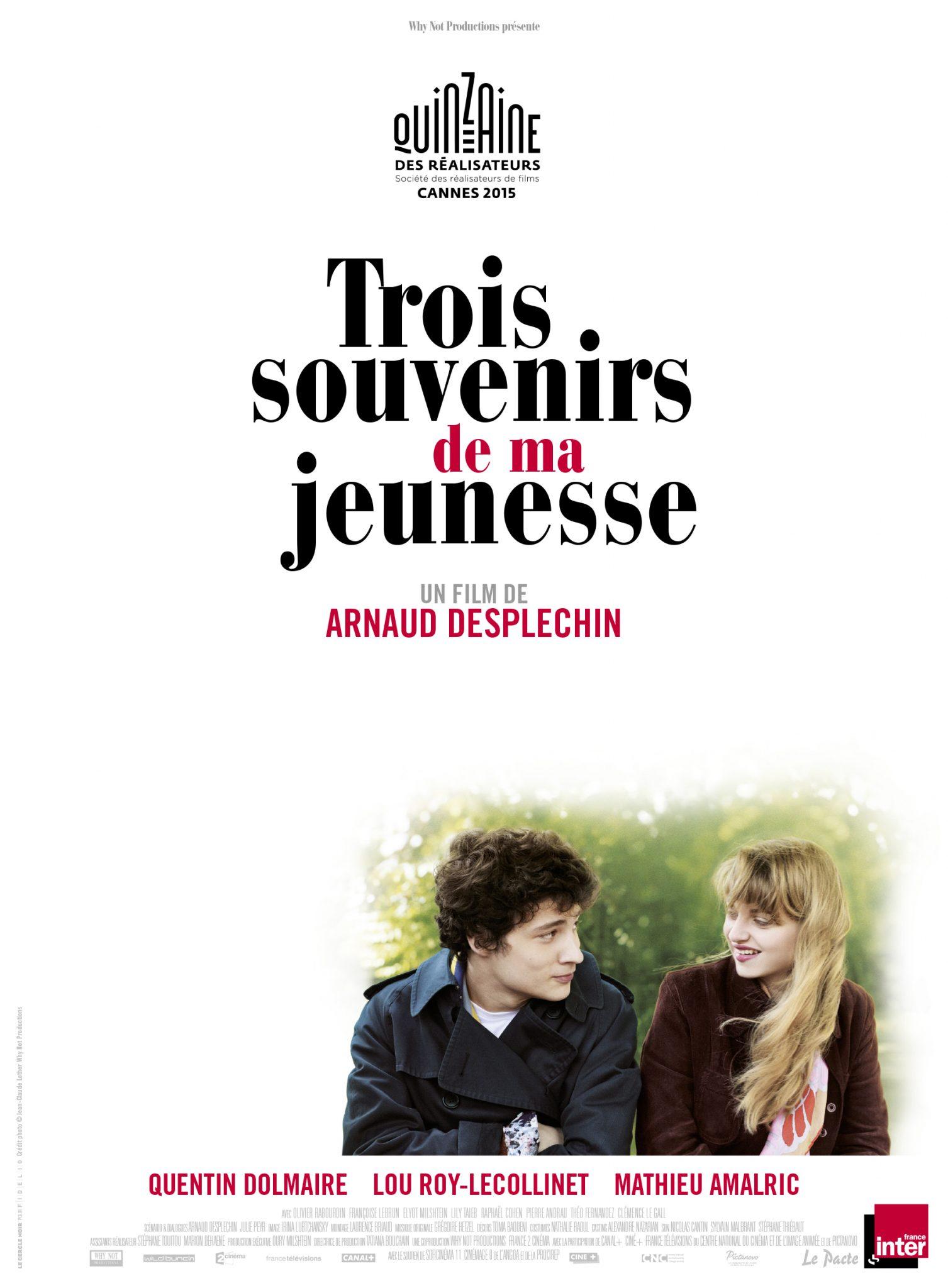 """[CRITIQUE] #Cannes2015 """"Trois souvenirs de ma jeunesse"""" (2015) 2 image"""