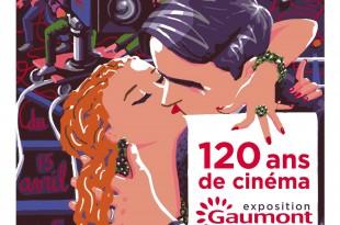 """Exposition """"120 ans de cinéma : Gaumont depuis que le cinéma existe"""" 1 image"""